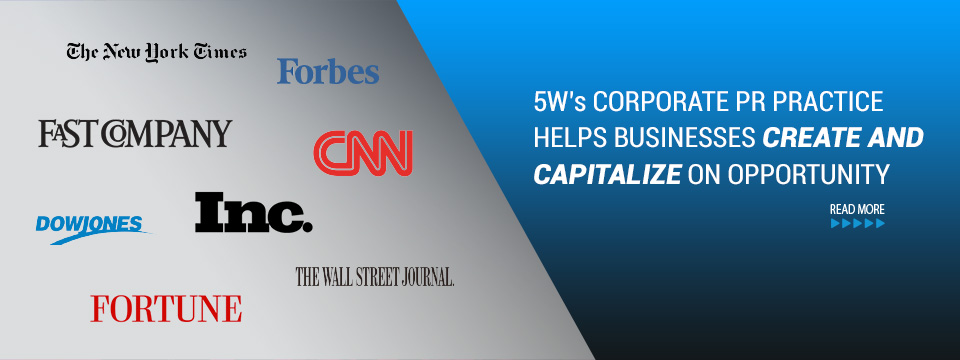 5WPR - NY's Top Corporate PR