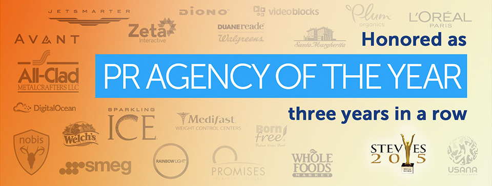 PR Agency of the Year - 5W Public Relations - Top PR