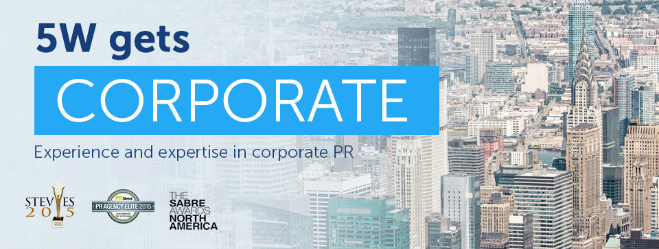Corporate PR: 5W Corporate Public Relations Firm
