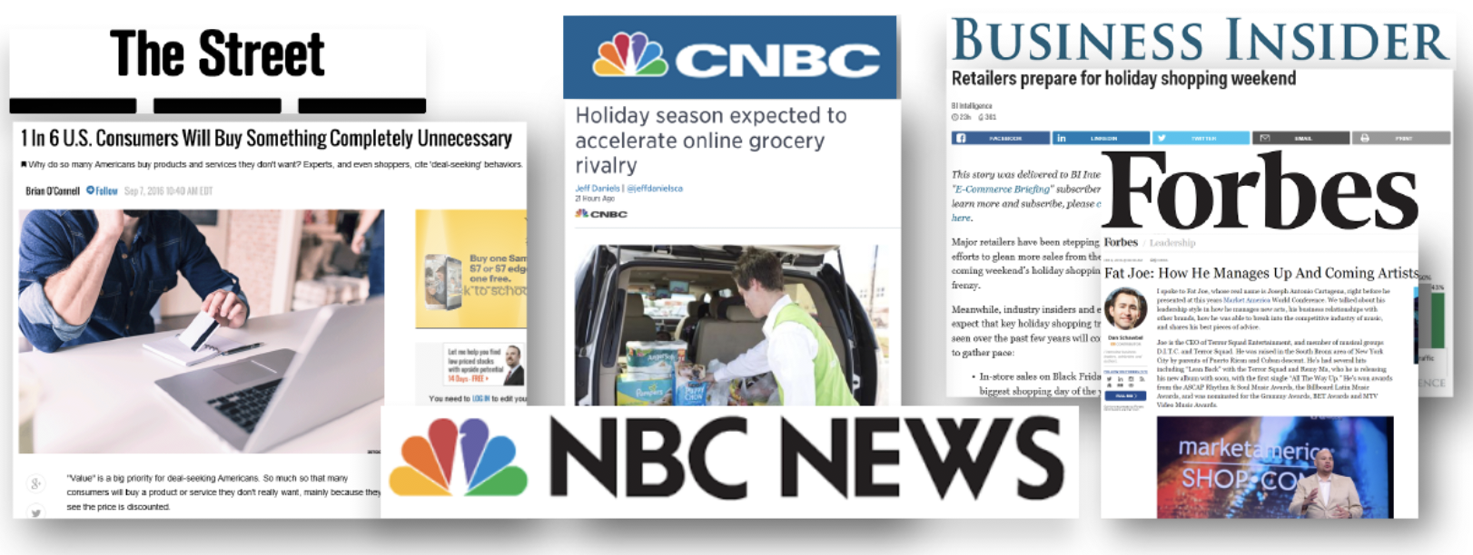 Media & Publication Placements for Market America by 5W PR