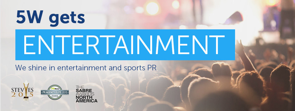 Entertainment Publicity: 5W Entertainment Public Relations Firm