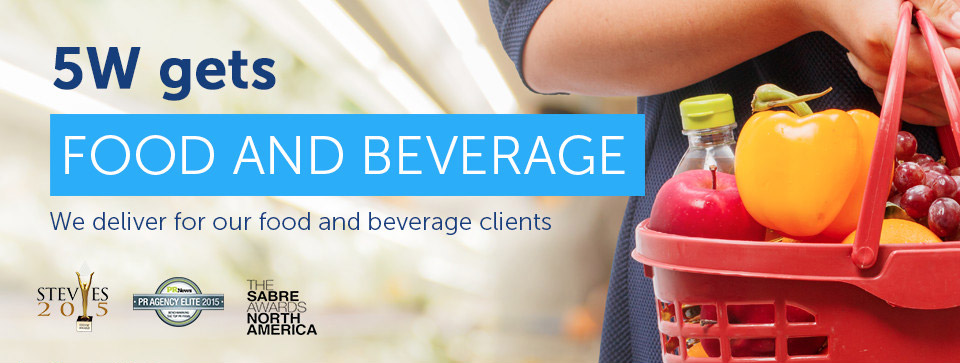 Food PR - Beverage PR - 5W Food and Beverage Public Relations Agency