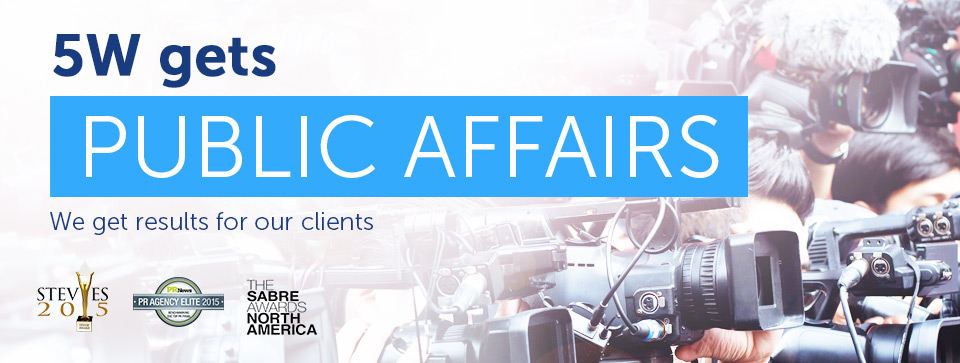 5W Public Relations - Public Affairs PR Firm