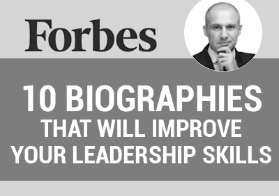 5W CEO, RONN TOROSSIAN, SHARES 10 BIOGRAPHIES THAT WILL IMPROVE YOUR LEADERSHIP SKILLS