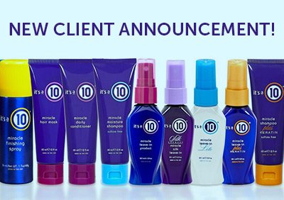 5W IS THRILLED TO BE NAMED AOR FOR IT'S A 10 HAIRCARE