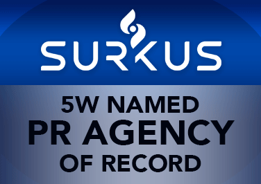 5W Public Relations Named Agency of Record by Surkus