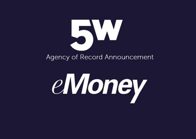 5W Public Relations Named Agency of Record for eMoney Advisor, LLC