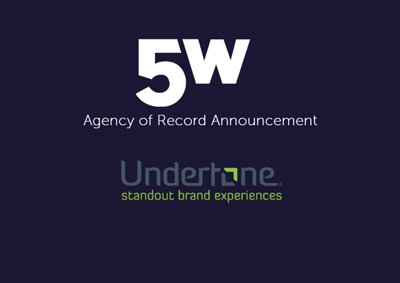 Undertone Chooses 5WPR as AOR to Generate Brand Awareness and Put A Spotlight On Creative Efficiency in Changing Digital Media Ecosystem""