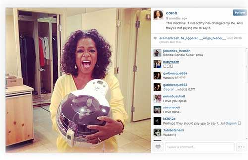 Oprah Public Relations