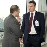 Vitali Klitschko with 5W PR CEO Ronn Torossian