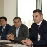5W PR CEO Ronn Torossian with Vitali Klitschko