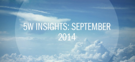 5W Insights: September 2014 – Biggest Marketing Trends