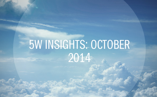 5W Insights: October 2014 – Youth Marketing 2014