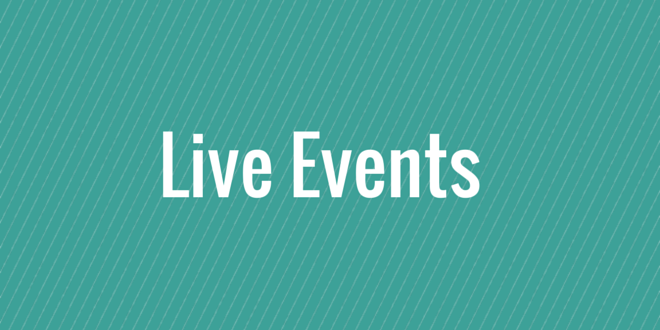 launch marketing - live events