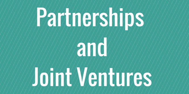 Partnerships and joint ventures - launch marketing campaign