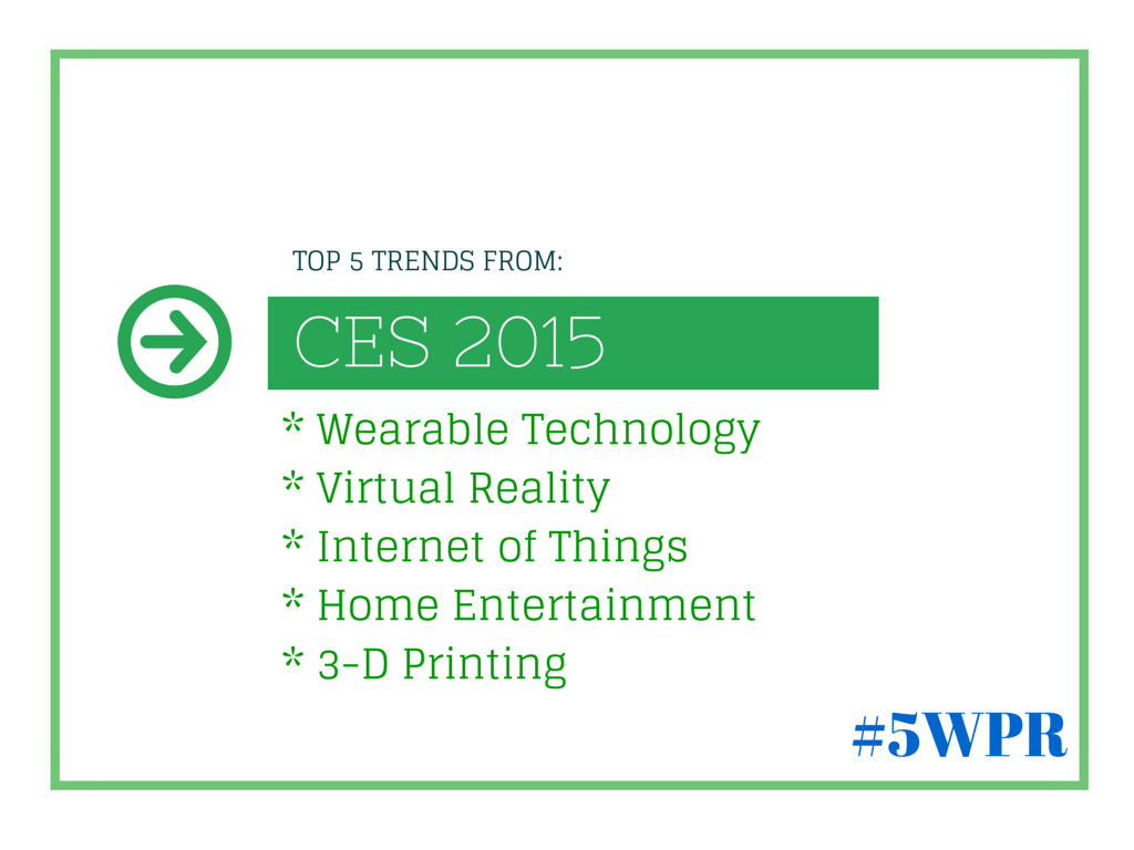 top 5 trends from ces 2015