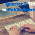 Trends in Public Relations