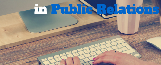 Trends in Public Relations