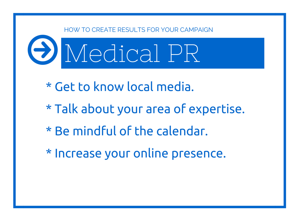 5W PR Creating Positive Results for Your Medical Doctor PR