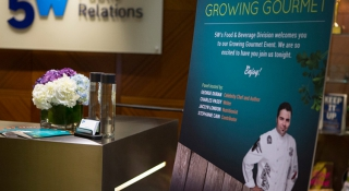 Growing Gourmet: 5WPR Food and Beverage Event - 5W Public Relations Blog
