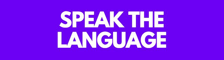 Speak The Language - International PR