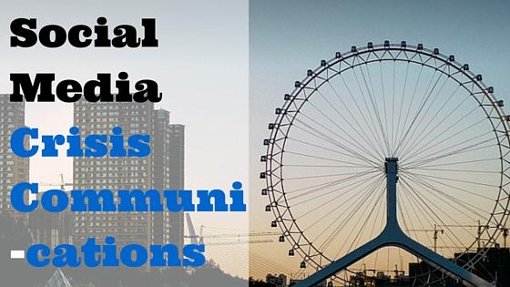 Social Media Crisis Communi-cations