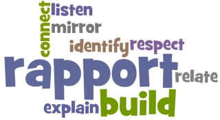 build rapport in business