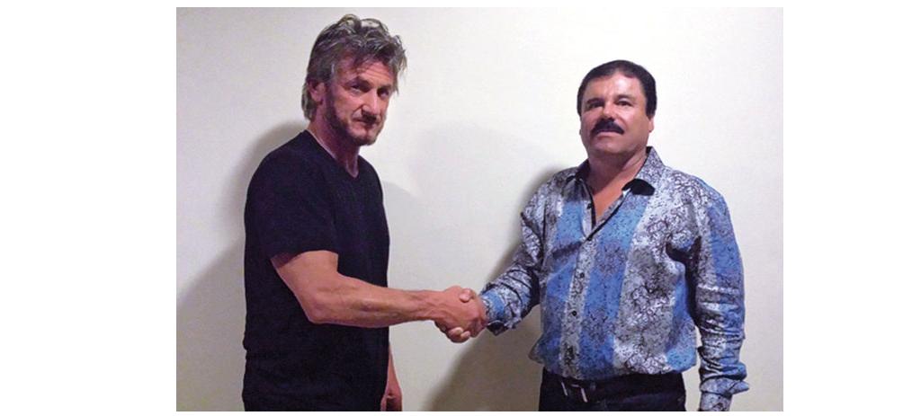 El Chapo Sean Penn Social Media PR