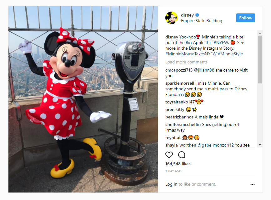 disney social media authenticity