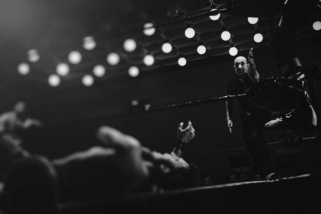 wrestling marketing