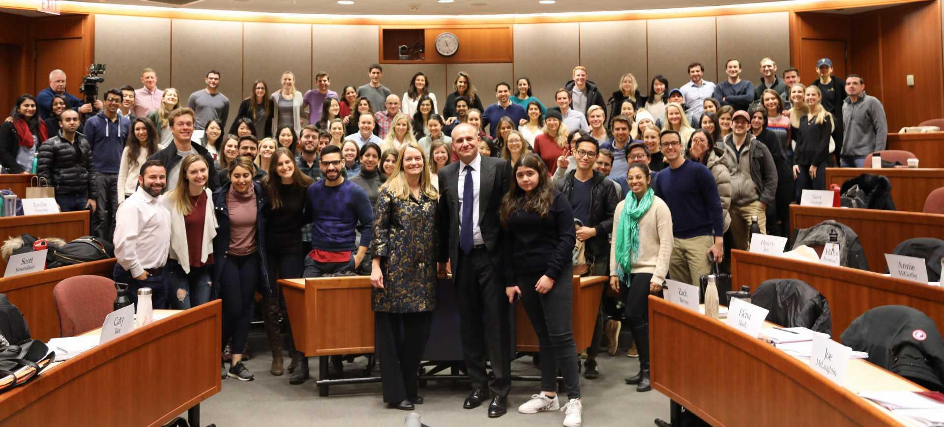 5W CEO Speaks at Harvard Business School on Crisis 5W PR