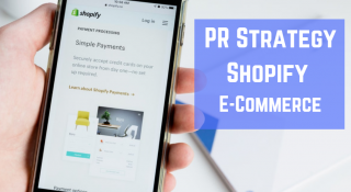 shopify public relations strategy